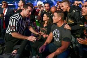 WrestleMania 34 - Cena Crowd