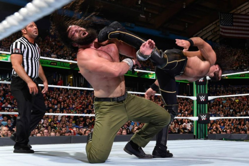 Money In The Bank (2018) Rollins vs Elias