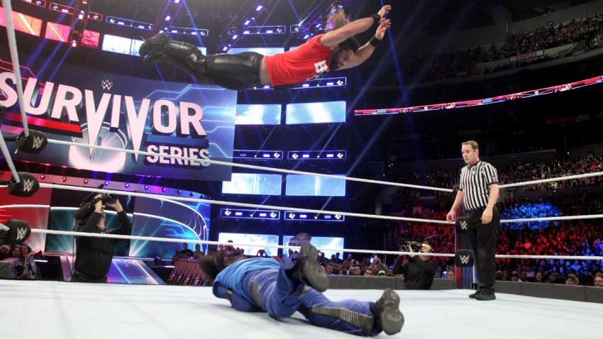 Survivor Series (2018) - Rollins vs Nakamura