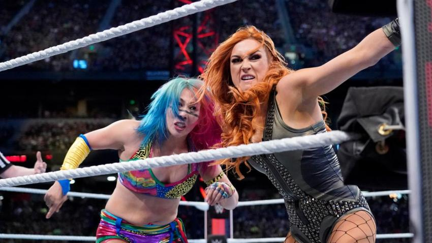 2019 Royal Rumble - Asuka vs. Lynch