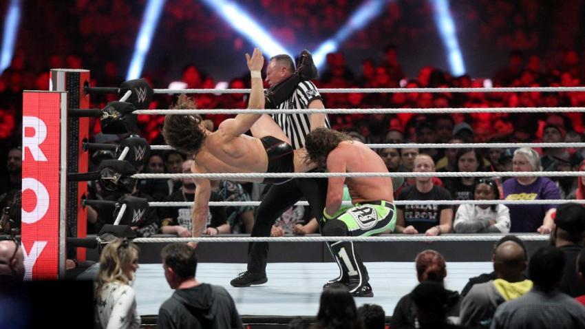 2019 Royal Rumble - Styles vs. Bryan