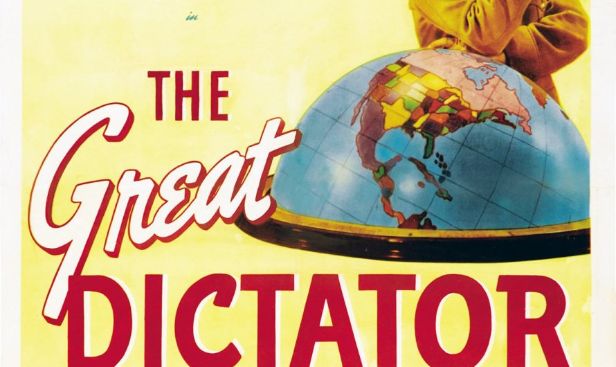 Think About It – The Great Dictator