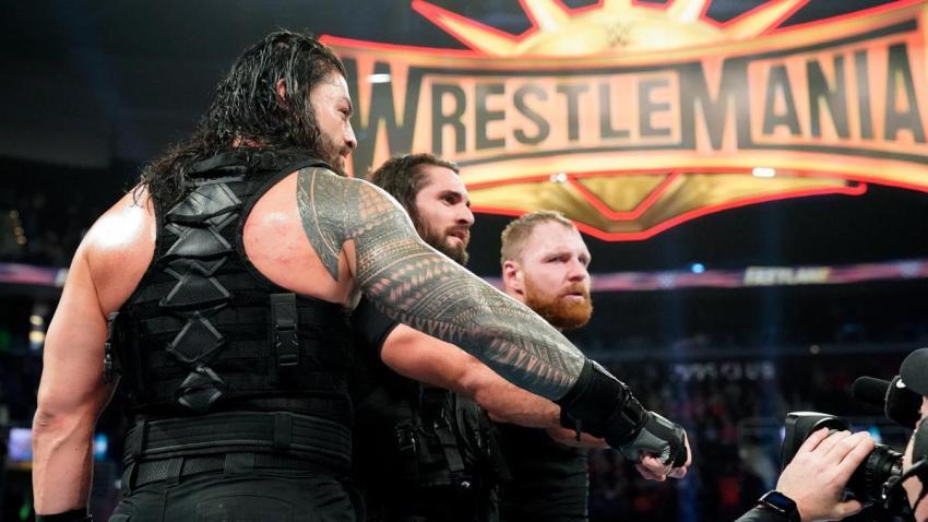 Fastlane 2019 - The Shield vs Baron Corbin, Bobby Lashley, and Drew McIntyre