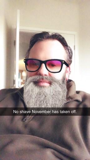 No Shave November Has Taken Off