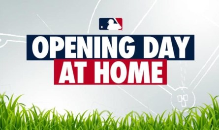 Opening Day at Home