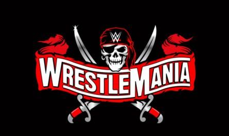 WrestleMania 37 Logo 2021 Feature
