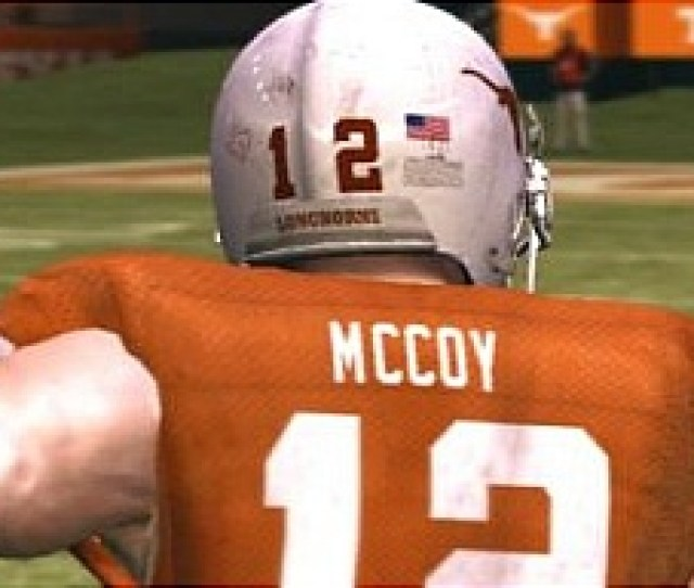 Download Named Rosters And Put Colt Mccoy Into Ncaa 10