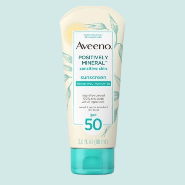 Aveeno Mineral Sunscreen