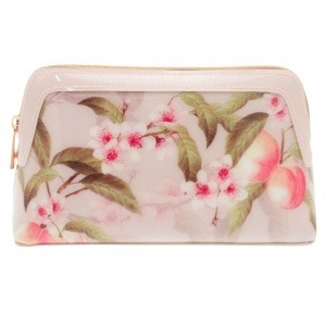 Ted Baker London Peach Cosmetic Bag