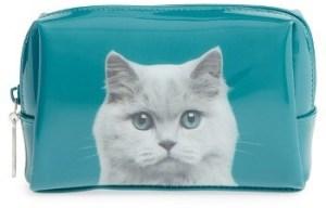 Catseye London Cat Makeup Bag