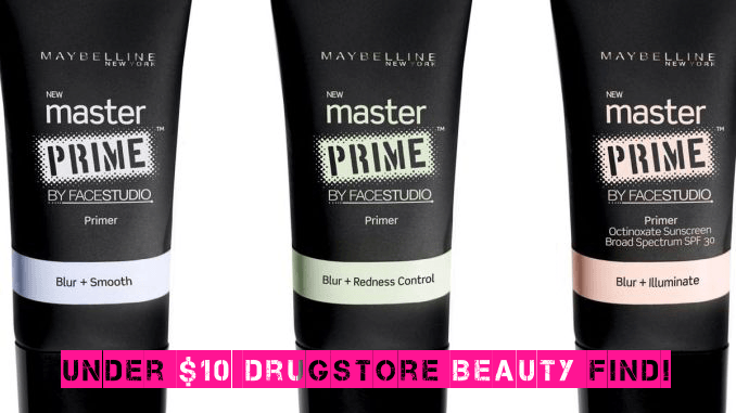 Maybelline Facestudio Master Prime Review