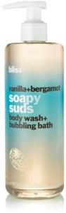 Bliss Vanilla + Bergamot Soapy Suds