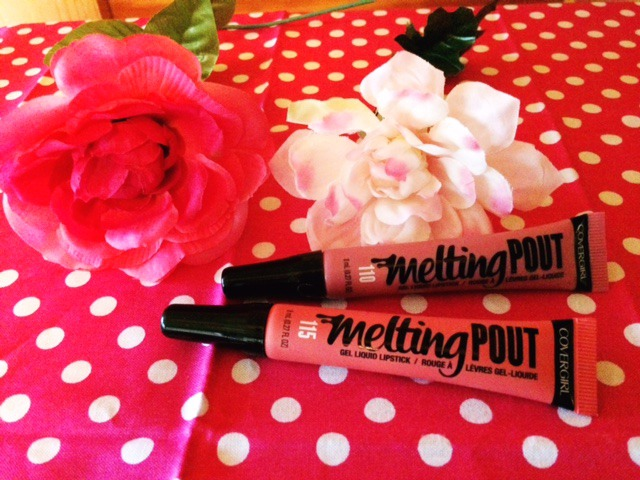 Covergirl Melting Pout Liquid Lipstick in shades 110 & 115