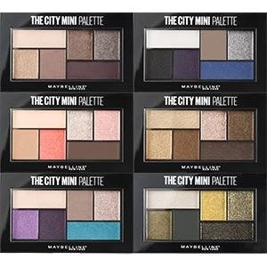 Maybelline City Mini Eyeshadow Palettes