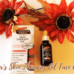 Palmer's Cocoa Butter Skin Therapy Oil Face Review