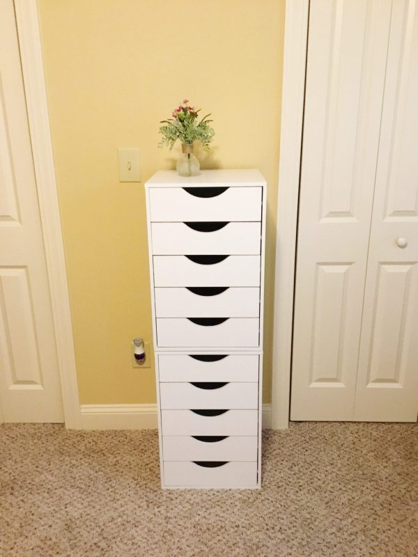 IKEA Alex 9 Drawer Dupe