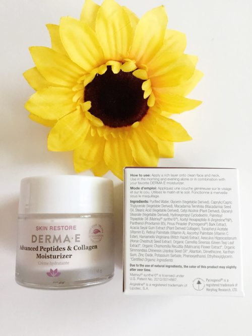 Derma E Advanced Peptides & Collagen Moisturizer