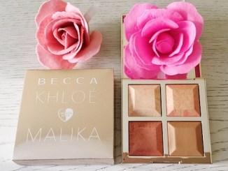 BECCA x Khloé Kardashian & Malika Haqq Bronze, Blush & Glow Palette Review