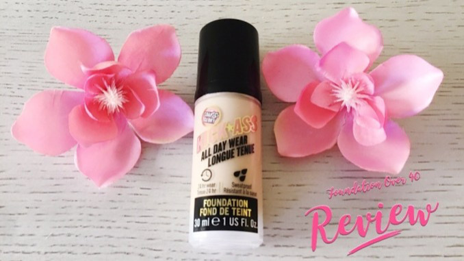Soap & Glory Kick Ass All Day Wear Foundation Review
