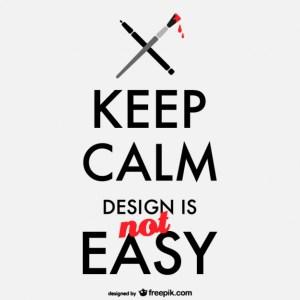 logo design is not easy