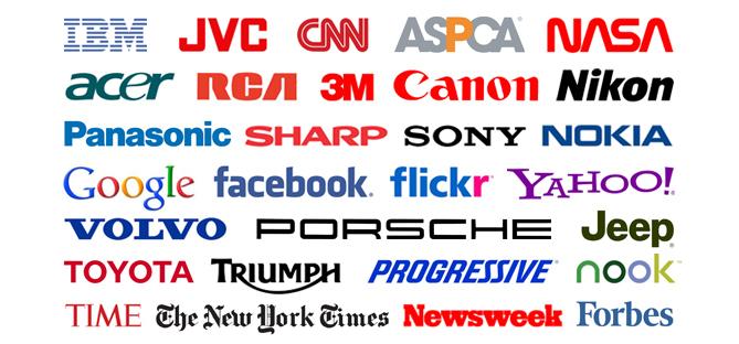 popular wordmark logos