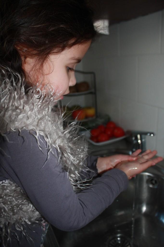 Iets tussen smetvrees en schone handen in