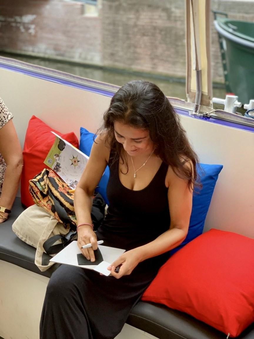 Met de blogboot op reis