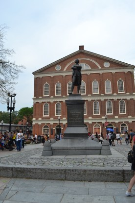 Statue of Samuel Adams at Faneuil Hall
