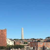 View of Bunker Hill Monument