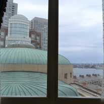 View From the Boston Harbor Hotel