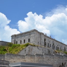 Fort at Dockyard in Bermuda