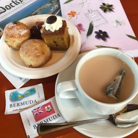 Afternoon tea at Grotto Bay Resort, Bermuda