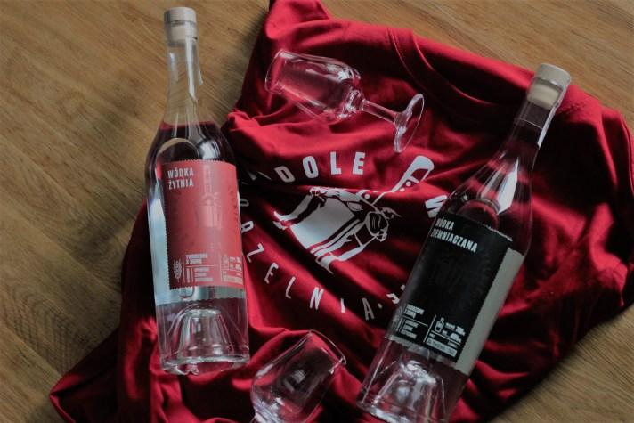 Podole Wielkie wódki i koszulka
