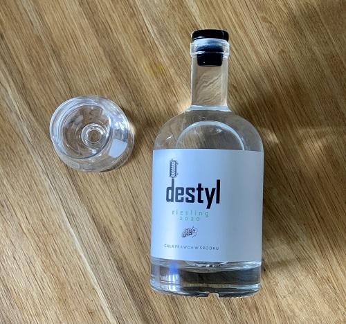 Destyl riesling 2020, degustacja