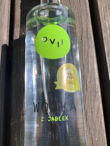 Wódka z Jabłek OVII, front