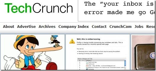 TechCrunch - top tech sites