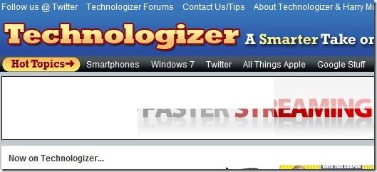 Technologizer - top tech sites
