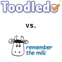 Toodledo vs Remember the Milk