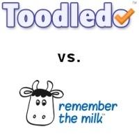 Toodledo vs Remember the Milk