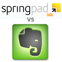 Springpad vs Evernote -- It Might Be Better | 40Tech