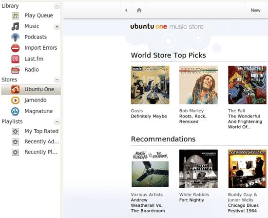 Ubuntu One Music Store | 40Tech