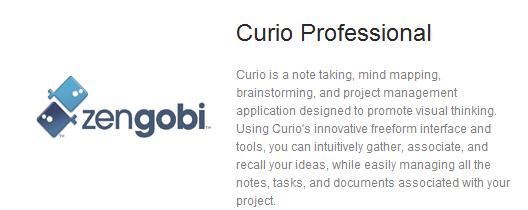 Curio Professional, Zengobi, Evernote Trunk