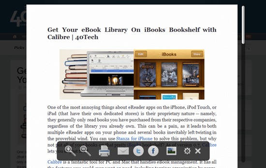 iReader Removes Ads, Makes Websites Readable | 40Tech