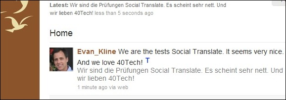 social translate google chrome extension