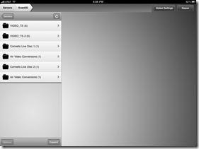 Air Video screenshot 1