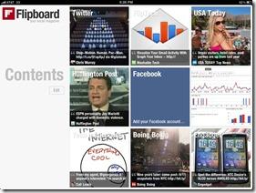 Flipboard for the iPad screenshot 1