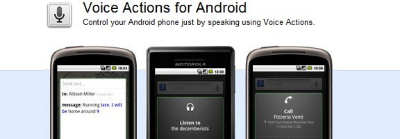 voice actions android