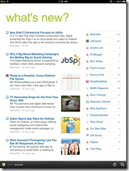 Feedly Mobile 2.0 iPad RSS Reader | 40Tech