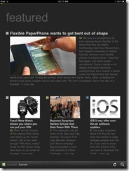 Feedly Mobile 2.0 iPad RSS Reader Magazine | 40Tech