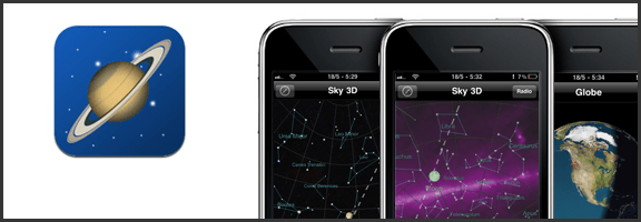 40Tech App of the Week: Stargazing App Planets for iPhone, iPad, iPod Touch